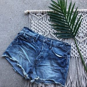 New Free People Jean Shorts Size 26 - We The Free
